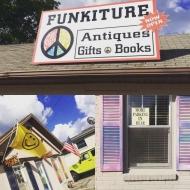 Funkiture Antiques & Gifts, LLC 130 N. Main St. Hiawassee, GA 30546 (706) 970-3708