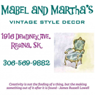 Mabel and Martha's Vintage Style Decor